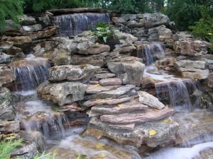 Водопады – искусство, запечатленное в дизайне