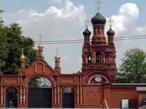 Храм Всех святых в Москве