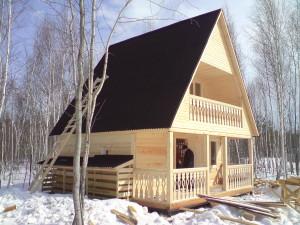 Брус – натуральный материал для строительства красивых и долговечных домов