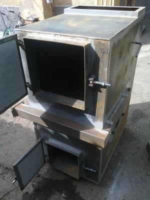 Изготовление пиролизного котла
