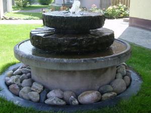 Как сделать фонтан в саду