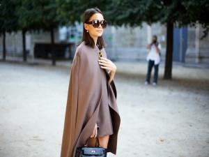 Кейп – осенняя модная тенденция