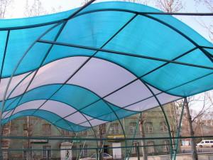 Область применения сотового поликарбоната