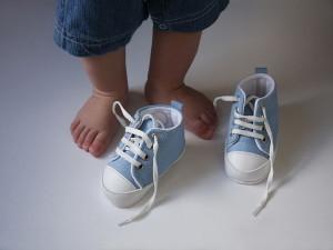 Обувь для детей. Особенности выбора первой обуви