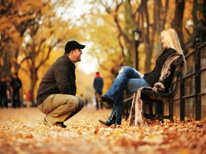 Осеннее настроение у мужчин и женщин