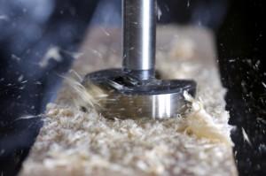 Способы обработки фанеры. Фрезы концевые алмазные