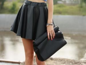 Стильные юбки. Модели «тюльпан» и «колокольчик»