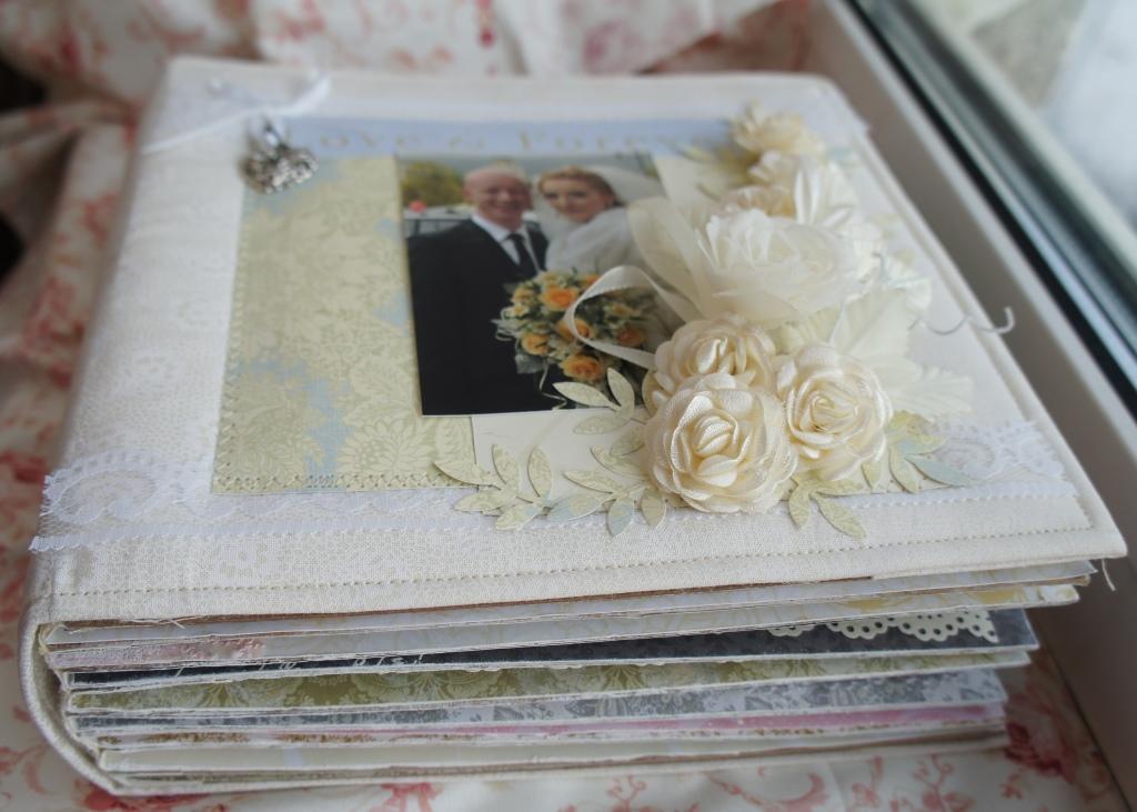 Свадебные альбом своими руками
