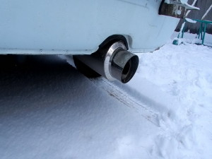 Зимние проблемы с авто: образование конденсата в глушителе