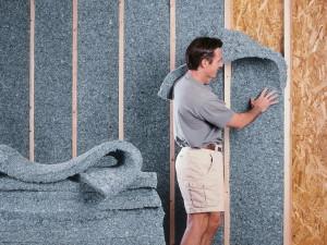 Звуко и теплоизоляция стен