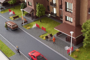 Архитектурный макет, как инструмент продаж