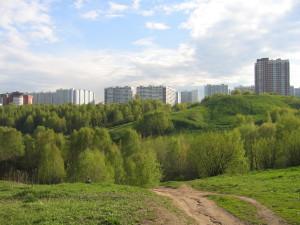 Экологичные районы Москвы