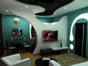 Гипсокартон - потолки из гипсокартона перегородки и гипсокартонные стены из гкл