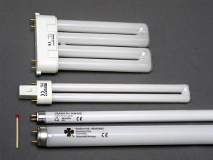 Люминесцентные лампы освещения