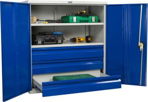 Обзор стеллажей и мебели для мастерской