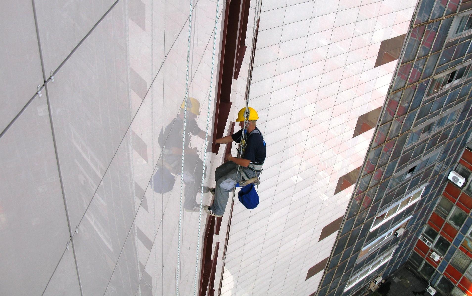 Промышленный альпинизм в Туле от компании ПромАльпСервис