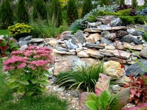 Создание альпийской горки во дворе Вашего дома