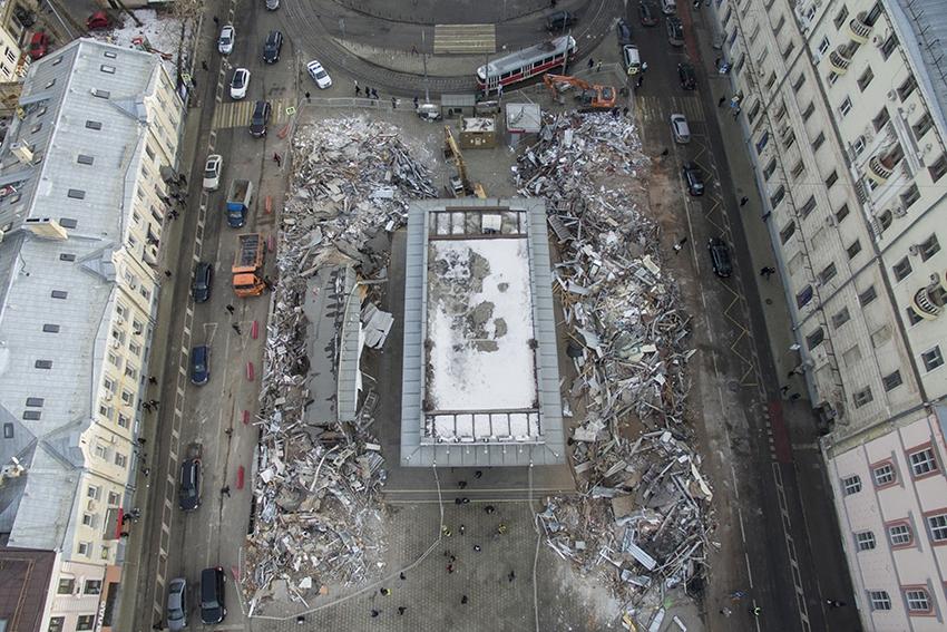 Условия для успешного демонтажа строений