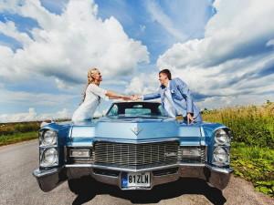 Заказ шикарных машин на свадьбу