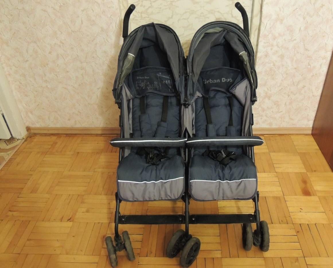 Детские коляски-трости для двойняшек и тройняшек