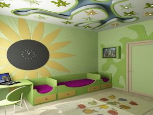 Как можно оформить детскую комнату