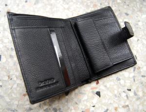 Кожаный кошелек — полезная вещь