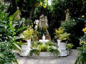 Организация ландшафта: стилизованный сад