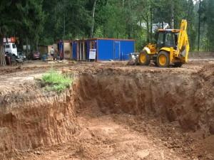 Организация строительной площадки.