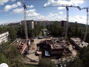 Охрана строительного объекта с помощью системы видеонаблюдения