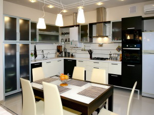 Подбор освещения в кухне