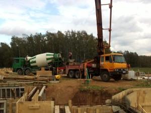 Разметка территории и организация площадки строительства