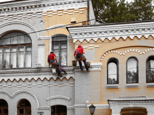 Ремонт и реставрация фасада здания