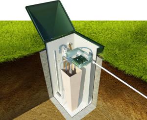 Септик - незаменимое устройство в коттеджном поселке