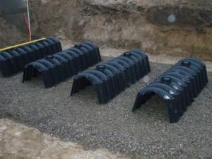 Современные дренажные блоки и тоннели от компании «Дренаж-Шоп»