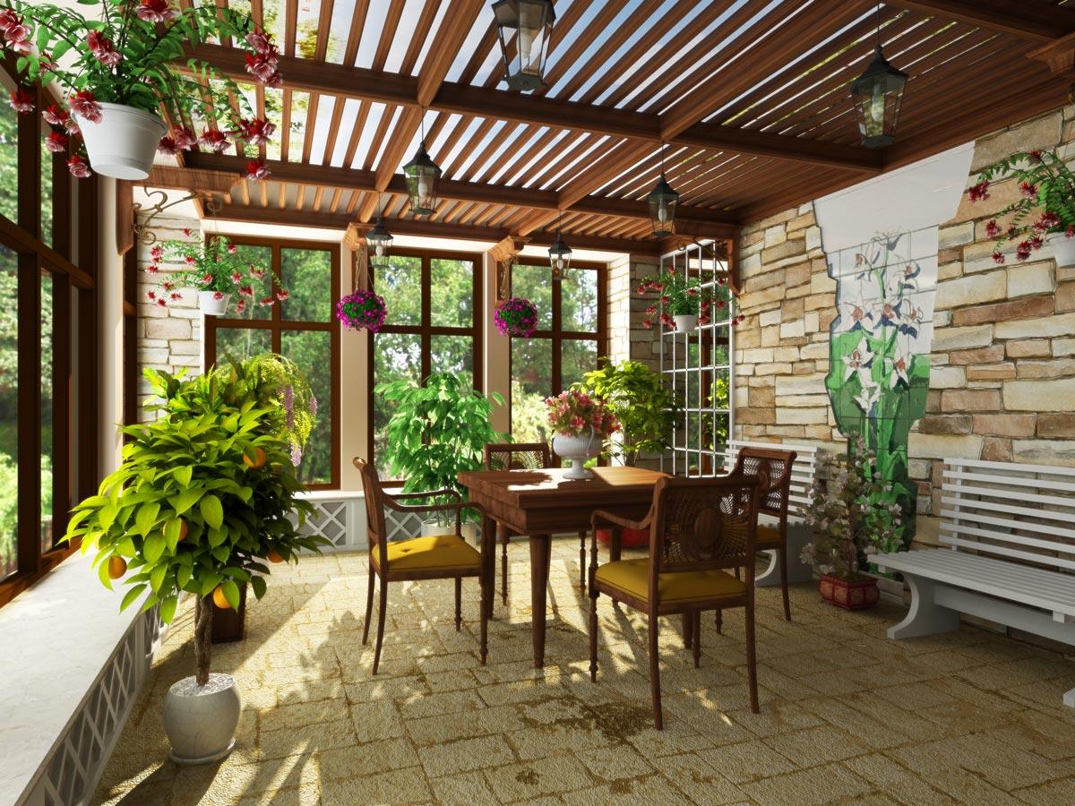 Создайте свой собственный зимний сад