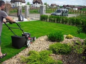Стрижем газон