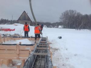 Строить нельзя ждать? Фундамент зимой.