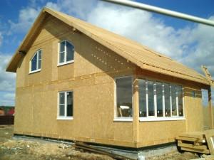 Строительство загородных домов из СИП панелей