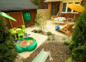 Обустраиваем дворик в частном доме для приятного отдыха всей семьи