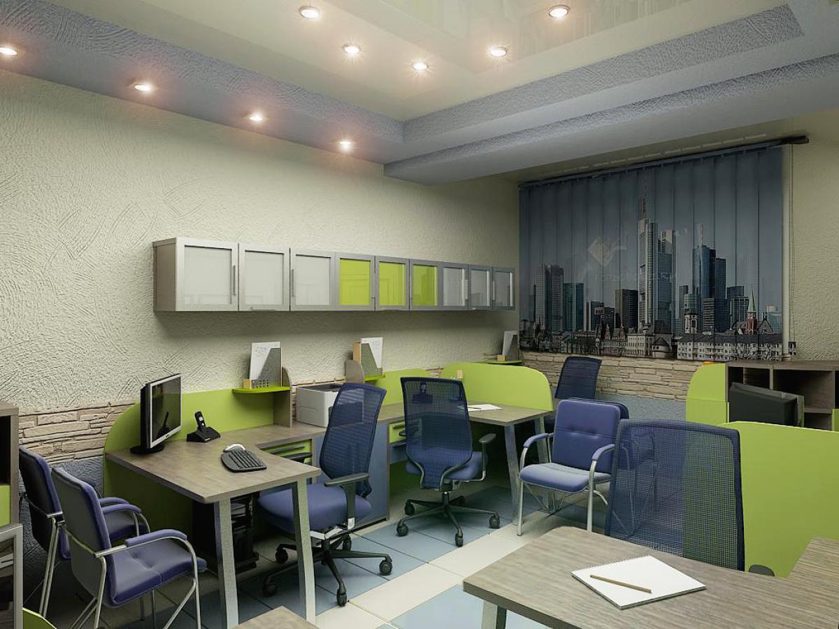 Обустройство и дизайн офисных помещений