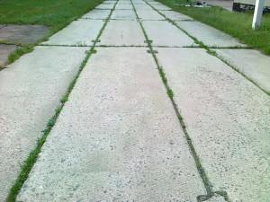 Применение дорожных и ребристых плит