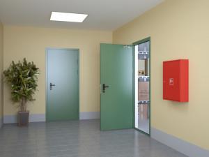 Противопожарная дверь: как правильно ее выбирать?