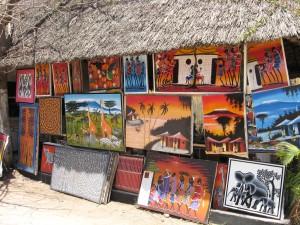 Танзания. Основные подарки в национальном стиле