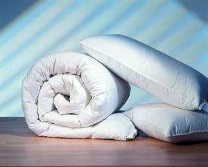 Бамбуковые подушки и одеяла