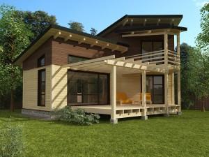 Готовые проекты загородных домов и коттеджей