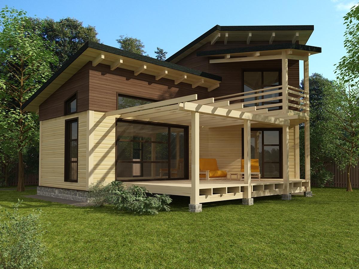 Деревянные дома - Цены - Загородный дом (гКиров)