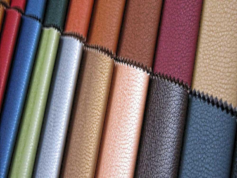 Искусственная кожа и ткани для обивки мебели