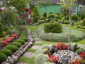 Некоторые правила озеленения и облагораживания дачного участка