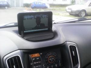 Телевизор в автомобиле