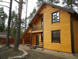 Каркасные дачные дома в Твери и области. Чем дизайн коттеджа отличается от дизайна дачного дома?